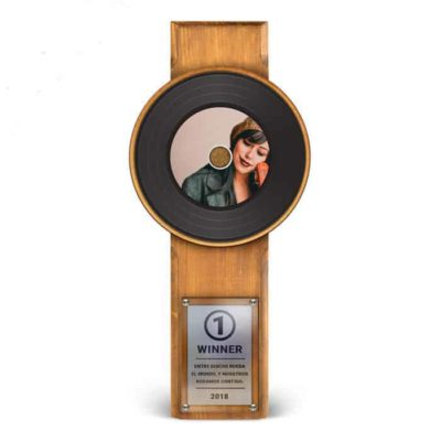 Master Award Noir Personnalisé