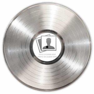 Disque Personnalisé platine avec Étiquette