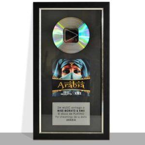 Digital Awards Platine Personnalisée