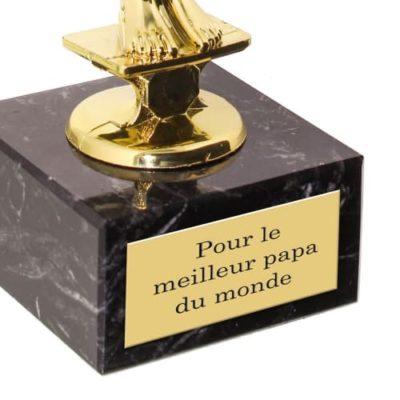Statuette Victor Personnalisée