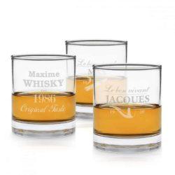 Jack Daniels verre Whiskey Personnalisé