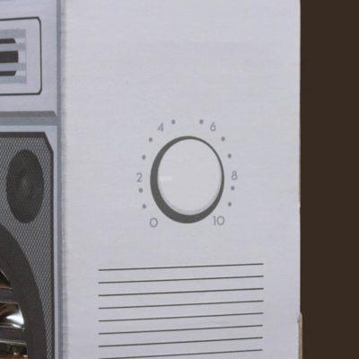 Enceintes rétro sans fil – Boombox