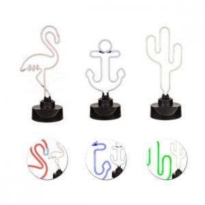 Lampe néon forme fantaisie