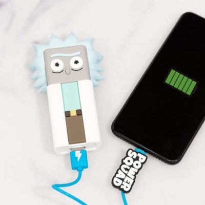 Batterie Externe Rick & Morty