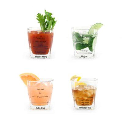 Set verres à cocktail