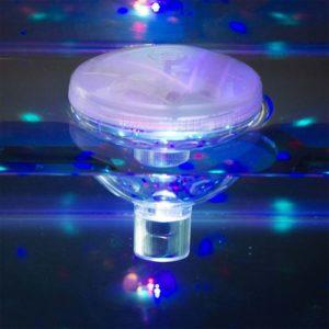 Lumière Disco sous-marine
