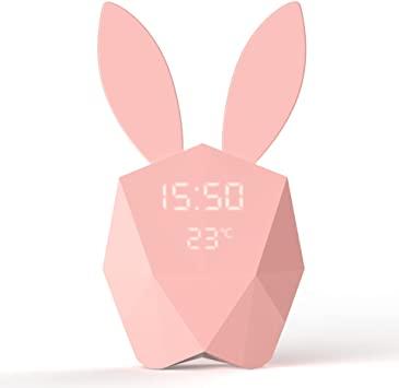 Cutty Clock – Réveil lapin intelligent