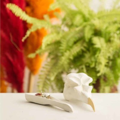 Boîte à bijoux – crâne d'aigle design