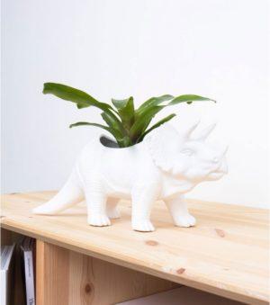 Cache-pot dinosaure