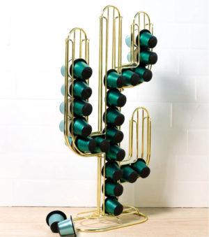 Porte-capsules cactus