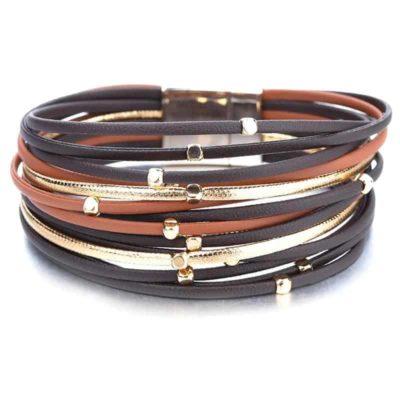 Boho Genuine Leather Bracelet for Women