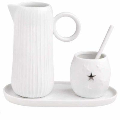 Service lait & sucre 4 pcs