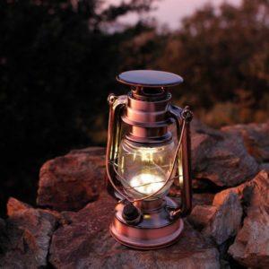 LAMPE TEMPÊTE SOLAIRE/USB