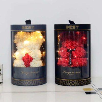 Ourson en roses, Super idées cadeaux