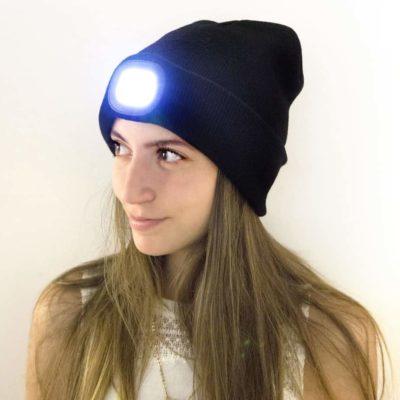 Bonnet de sport LED