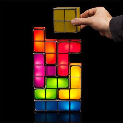 Lampe Tetris Modulable, Super idées cadeaux