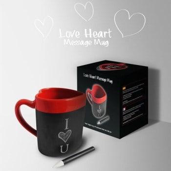 Tasse Coeur Ardoise, Super idées cadeaux
