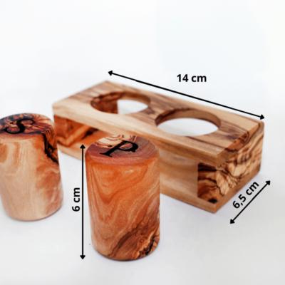 Set de Table en Bois d'Olivier, Super idées cadeaux