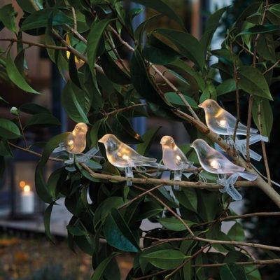 Guirlande solaire oiseaux de nuit, Super idées cadeaux
