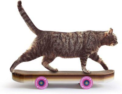 Griffoir pour chats skateboard