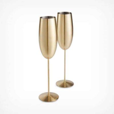 Lot de 2 flûtes à champagne