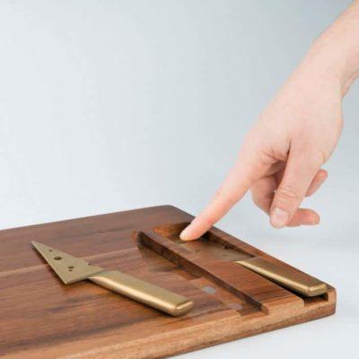 Planche à fromages avec ses Couteaux