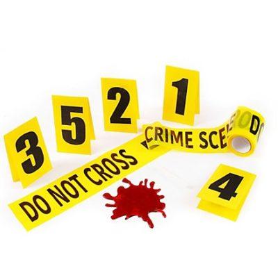 Décoration scène de crime