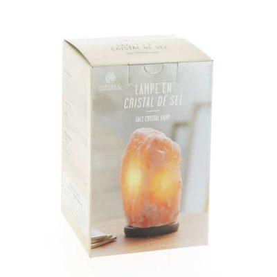 Lampe en cristal de sel Himalaya