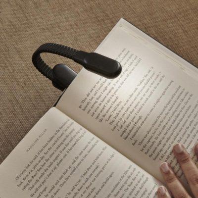 Liseuse rechargeable à clipser