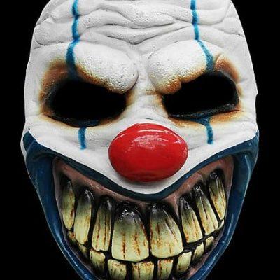 Masque latex de clown tueur