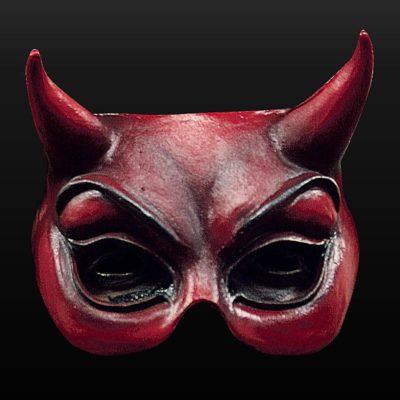 Masque de Diable Mephisto en latex