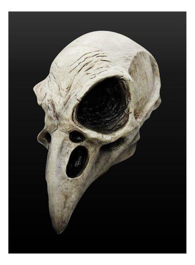 Masque tête de corbeau en latex, Super idées cadeaux
