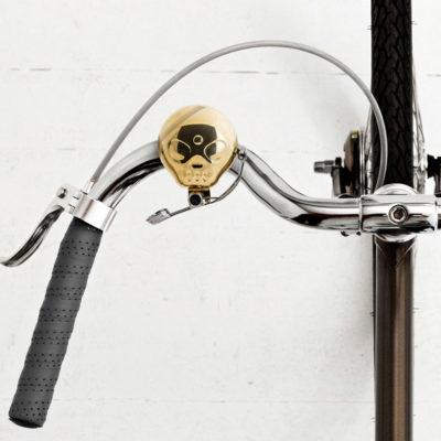 Sonnette Tête de Mort pour Vélo