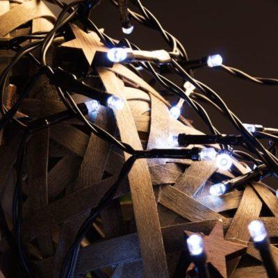 Lumières Blanches de Noël (120 LED)