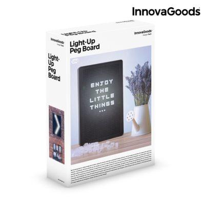 Tableau Perforé pour Insérer des Lettres LED